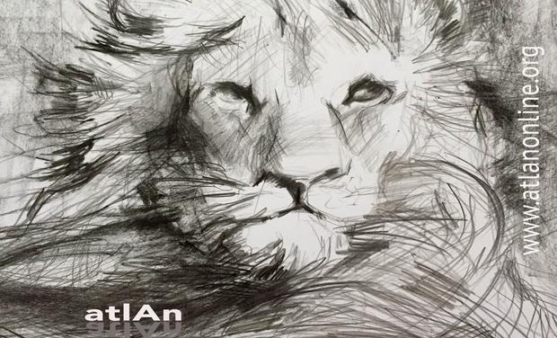 Project visual Le Silence Du Lion, le nouvel album d'atlAn.