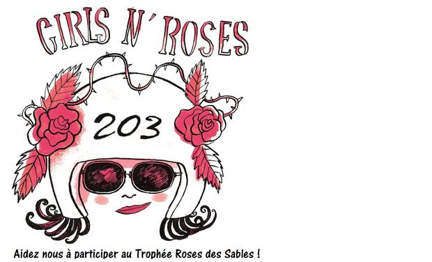 Visueel van project Équipage Girls'n roses. Aidez nous à participer au rallye Roses des sables!