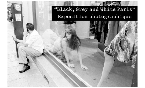 "Visuel du projet ""Black, Grey and White Paris"" - Exposition de photographie"