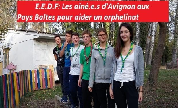 Visuel du projet E.E.D.F: Les ainé.e.s d'Avignon aux Pays Baltes pour aider un orphelinat