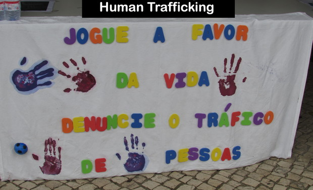 Project visual Active Schools Against Human Trafficking