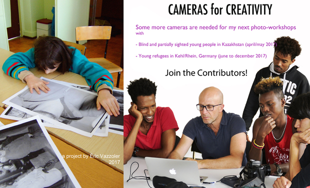 Visueel van project Cameras for Creativity