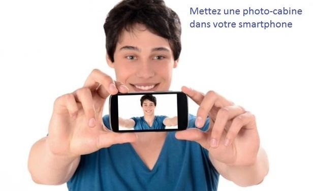 Visuel du projet Mettez une photo cabine dans votre smartphone
