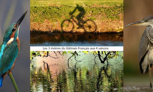 Visuel du projet Les 3 rivières du Gâtinais Français aux 4 saisons