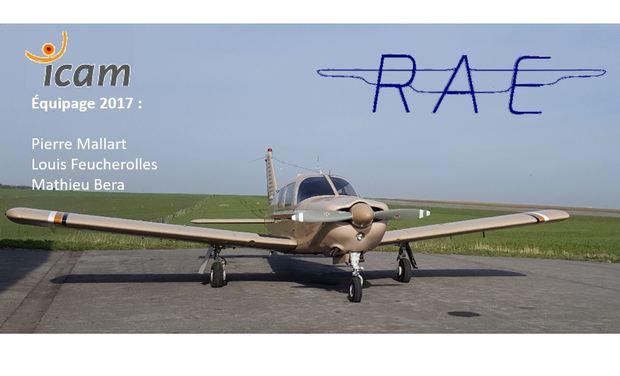 Visuel du projet Rallye Aérien Etudiant 2017 - Équipage ICAM Lille