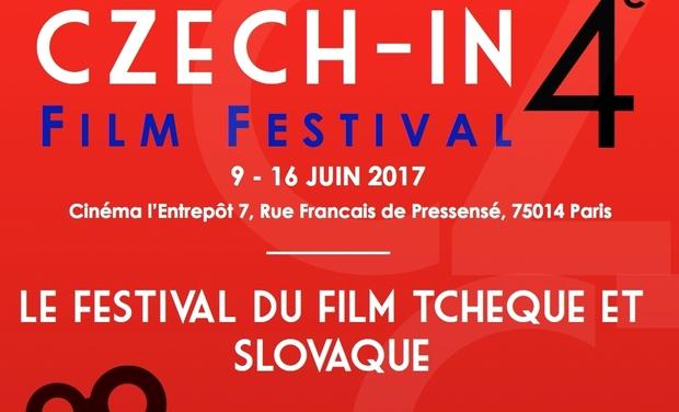Visuel du projet Soutenez la 4ème édition de Czech-In, festival du cinéma tchèque et slovaque en France