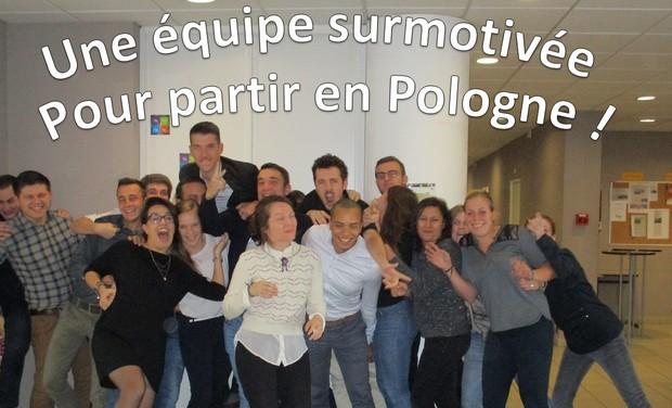 Visueel van project LPCI4A voyage en Pologne à Vocation Solidaire