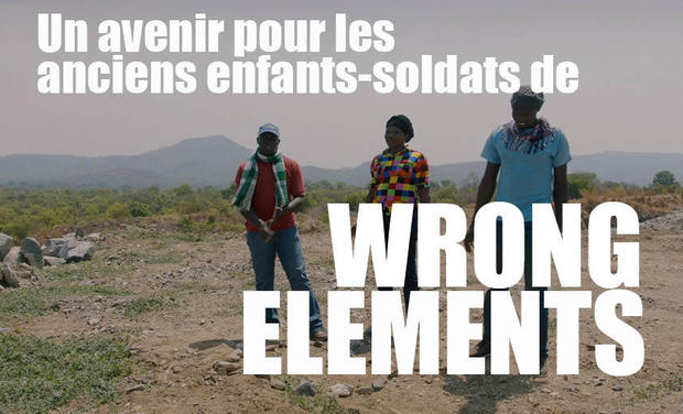 "Project visual Un avenir pour les anciens enfants-soldats de ""Wrong Elements"""