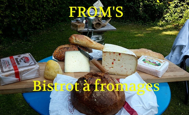Project visual FROM'S, bistrot à fromages
