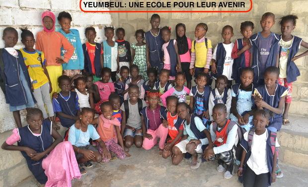 Visuel du projet Yeumbeul: une école pour leur avenir