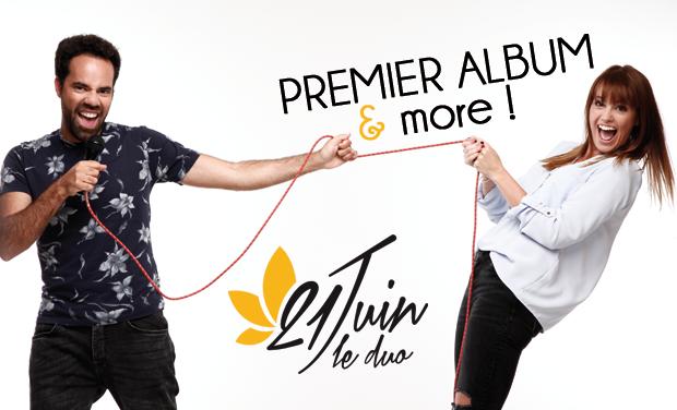 Visuel du projet 21Juin le Duo // 1er album & more