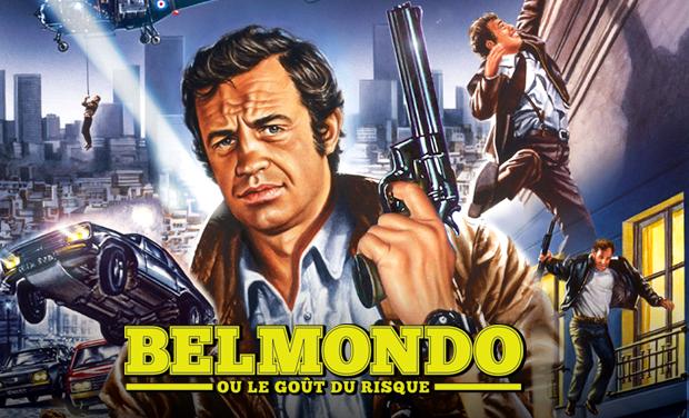 Visuel du projet Documentaire Belmondo ou le goût du risque