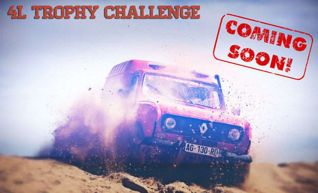 Visueel van project 4L Trophy Challenge