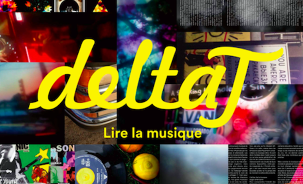 Visuel du projet Revue Delta t. Les musiques comme vous ne les avez jamais lues.