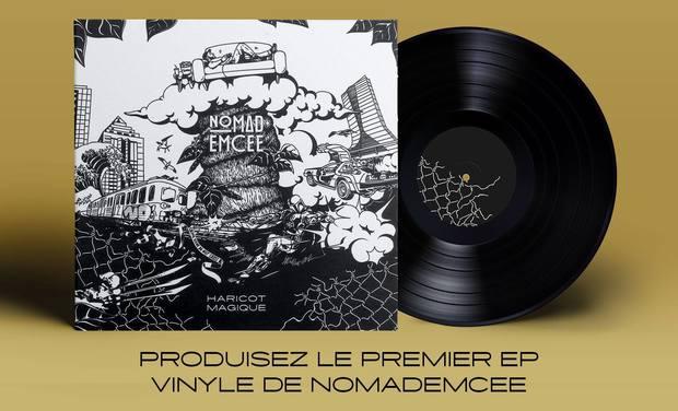 Visuel du projet Contribuez au 1er Ep Vinyle de Nomademcee