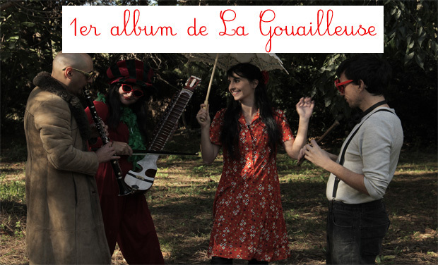 Project visual 1er album de La Gouailleuse
