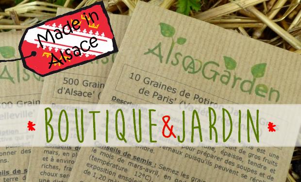 Visuel du projet Alsagarden : Ouverture d'une boutique jardin !