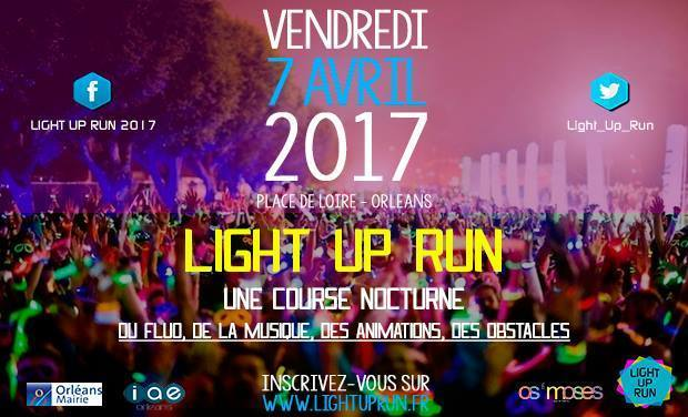 Visuel du projet Light Up Run 2017