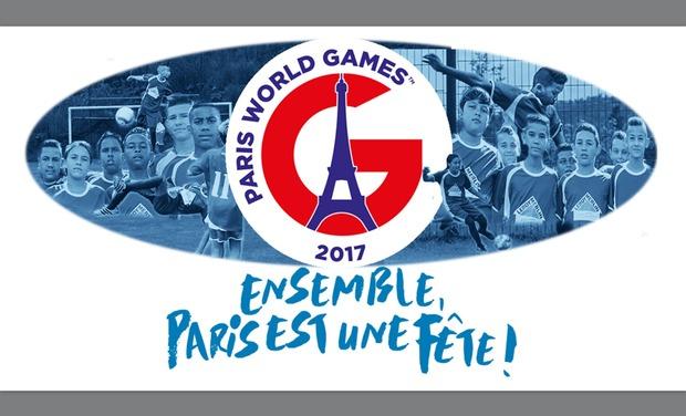 """Visueel van project """"nou tout ensamb"""" avec les U13 de L'ASC Makes ô PARIS WORLD GAMES 2017"""