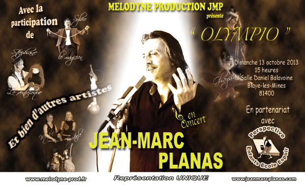 Visuel du projet Spectacle Melodyne Production JMP