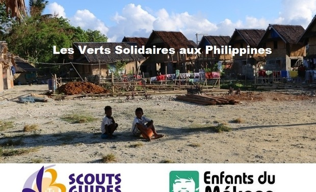 Visueel van project Les Verts Solidaires aux Philippines
