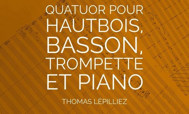 Visuel du projet Quatuor pour hautbois, basson, trompette et piano