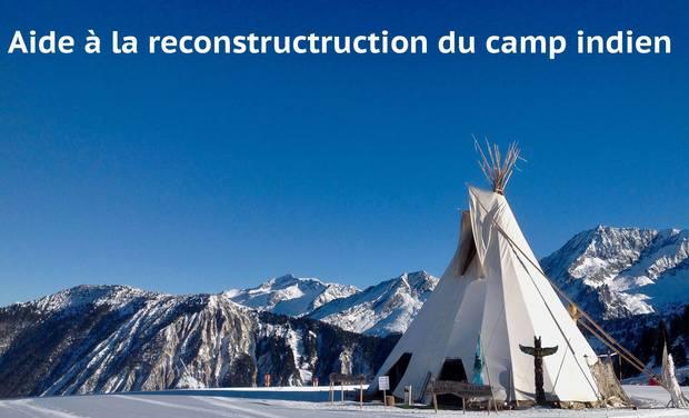 Visuel du projet Aider à la reconstruction du camp des indiens