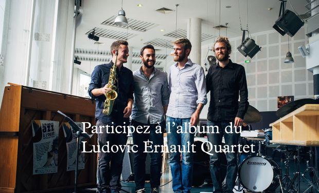 Visuel du projet Nouvel Album - Ludovic Ernault Quartet