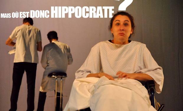 Project visual Mais où est donc Hippocrate ?