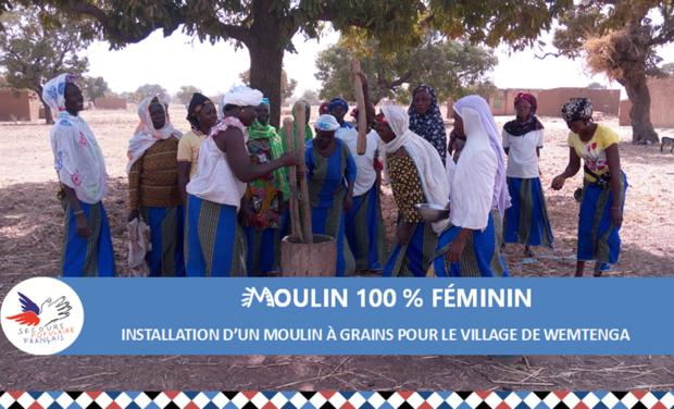 Visuel du projet Moulin à grains 100 % féminin