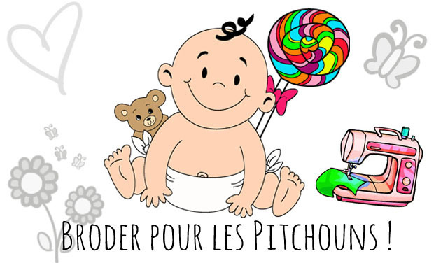 Project visual Broderie pour les Pitchouns de la Casa