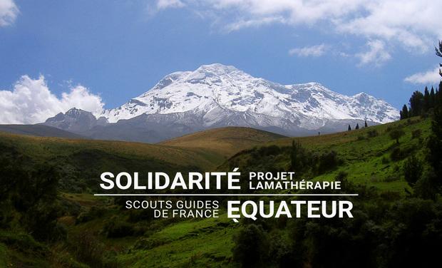 Visuel du projet Solidarité Equateur - Projet Lamathérapie