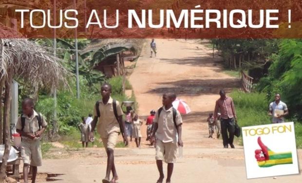 Project visual Le numérique pour les enfants du Togo