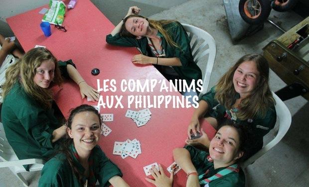 Visueel van project Les Comp'anims aux Philippines
