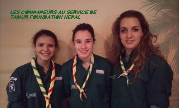 Visueel van project Les Compapeurs au service de Tamur Foundation Népal