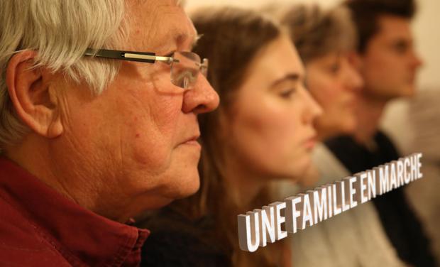 Visuel du projet Une famille en marche