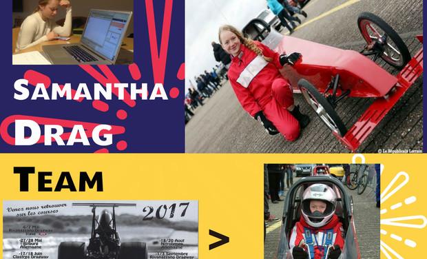 Visuel du projet Samantha Drag Team
