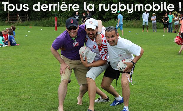 Visuel du projet Tous derrière la rugbymobile !