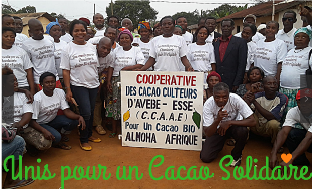 Project visual Cacao solidaire au Cameroun