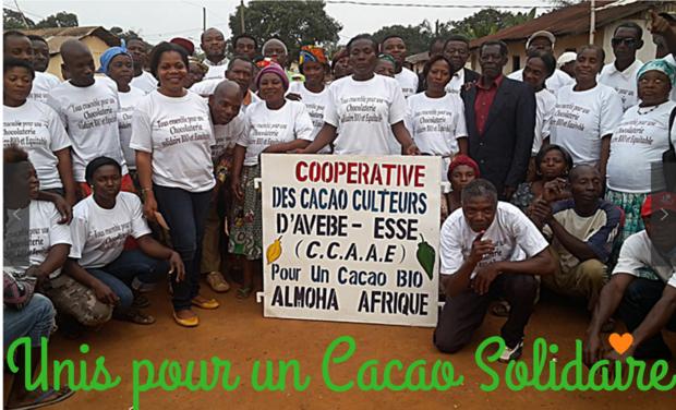 Visueel van project Cacao solidaire au Cameroun