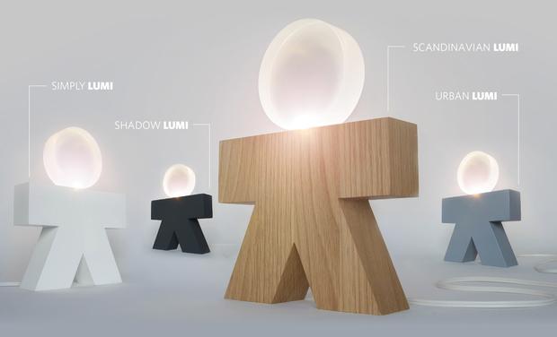 Visueel van project Simply LUMI - Lampe Ludique et Interactive