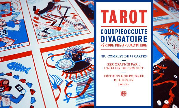 Project visual Tarot coudpiéocculte divagatoire