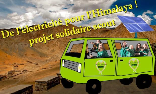 Project visual De l'électricité pour l'Himalaya ! projet solidaire scout