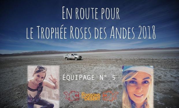 Visueel van project Roses des Andes 2018 - Anaïs & Mélissa