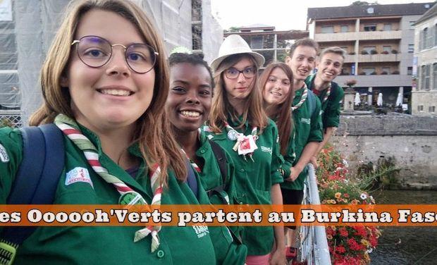 Visuel du projet Projet de Solidarité Internationale : Les Oooooh'Verts partent au Burkina Faso!
