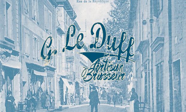 Project visual Brasserie LE DUFF