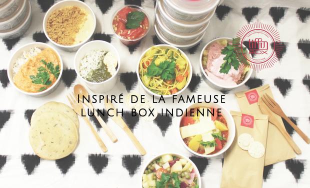 Visuel du projet Tiffin Box Paris - le 1er take away de cuisine indienne revisitée