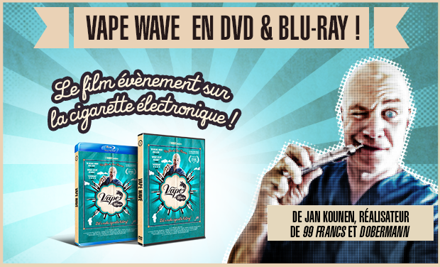 Visueel van project VAPE WAVE EN DVD & BLU-RAY !