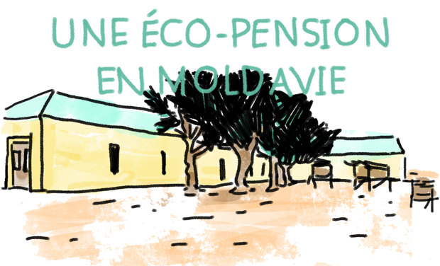 Visueel van project Une éco-pension en Moldavie