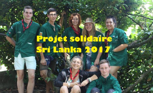 Visuel du projet Voyage solidaire pour venir en aide à la population Sri Lankaise